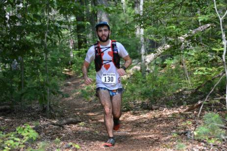 Trying to look like I was having a good time on lap 2.