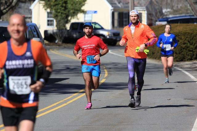 Hyannis Marathon Mile 11