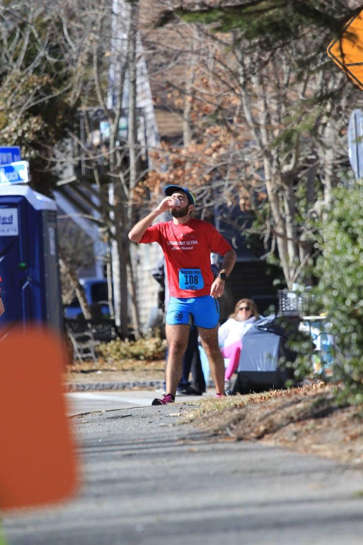 Hyannis Marathon Mile 25